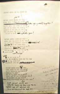 The lyrics to Instant Karma by the Beatles John Lennon
