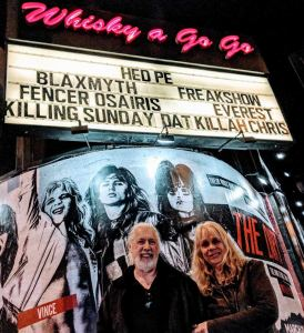 Outside the Whiskey a Go Go, Los Angeles