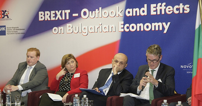Brexit panel BBBA conference