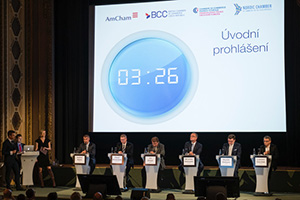 Pre-election debate in Czech Republic