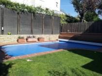 cubierta piscina madera