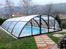 Coberta d'alumini piscina eco