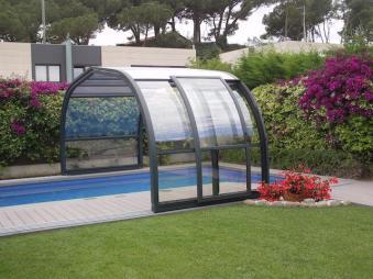 Cubierta piscina económica