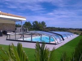 cubierta de aluminio para piscina