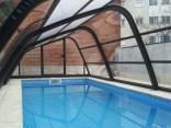cubierta piscina en terraza