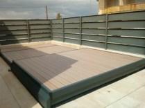 tapar piscina con suelo madera