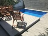 tarima movil de madera piscina