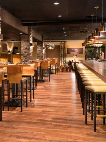 cobo sushi bistro and bar interior