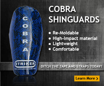 Cobra Shinguards - Ditch the tape and straps today!
