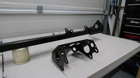 New Cross member and steering support brackets