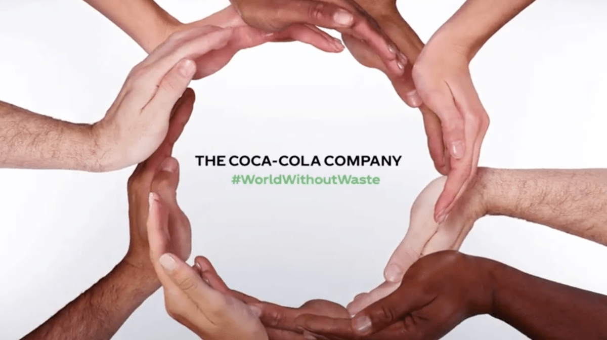 #WorldWithoutWaste The Coca-Cola Global Campaign for the planet.