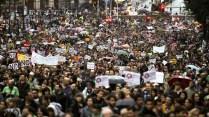 24. Estudiantes y padres salen a la calle por la educación (Gorka Lejarcegi)