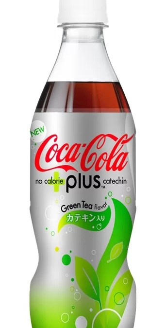 Coca-Cola Plus GreenTea débarque au Japon