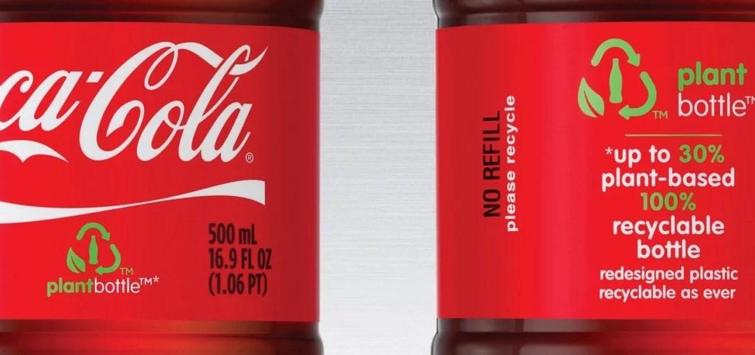 Lancement mondial de la PlantBottle de Coca-Cola