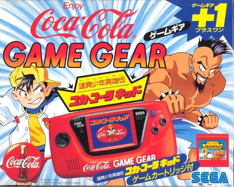 Insolite : une Game Gear Coca-Cola