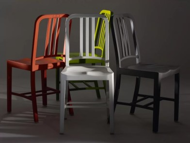 111 Navy Chair by Emeco & Coca-Cola