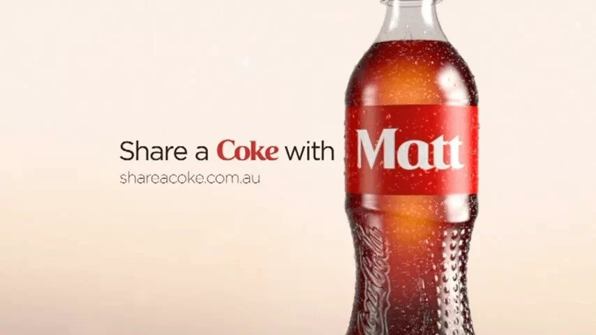 Coca-Cola va personnaliser des bouteilles avec des prénoms