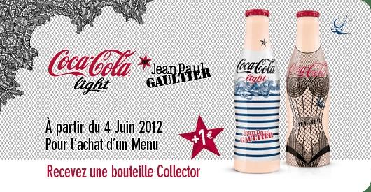 Les bouteilles Jean-Paul Gaultier disponibles à La Croissanterie
