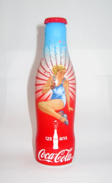 Lot - bouteille Coca-Cola - 125 ans
