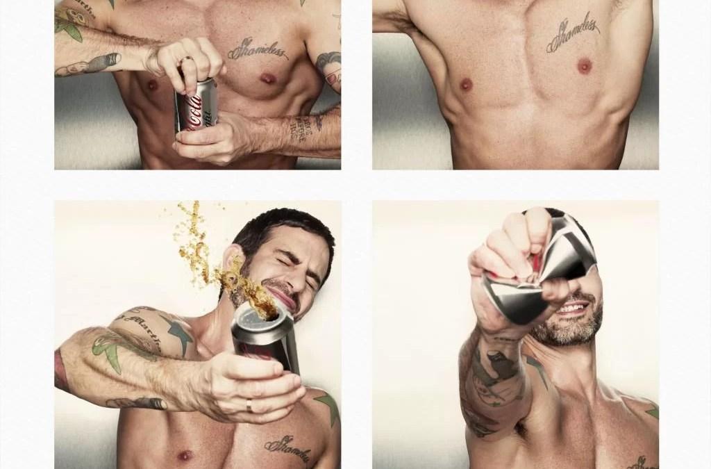 Coca-Cola Light choisit le créateur Marc Jacobs