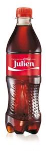 Votre prénom sur une bouteille de Coca-Cola