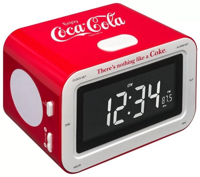 Radio réveil Coca-Cola