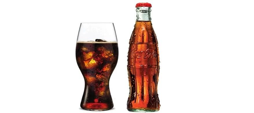 Riedel propose un verre qui améliore la dégustation du Coca-Cola