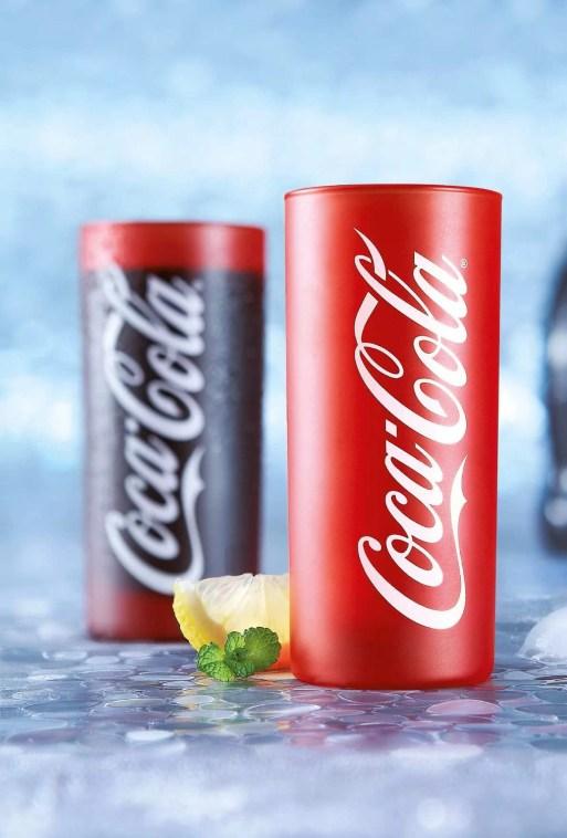 Verre Coca-Cola - Frozen