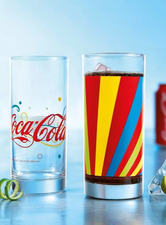 Verres Coca-Cola Enjoy - Fizzy et Rainbow