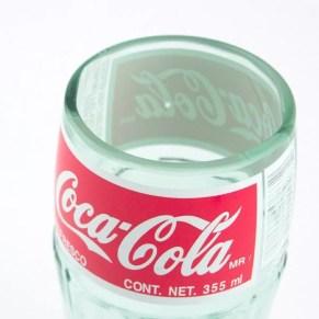 Verre Coca-Cola (bouteille recyclée)