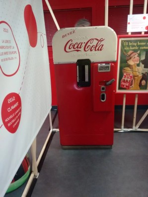 Visite de l'usine Coca-Cola de Clamart : l'exposition