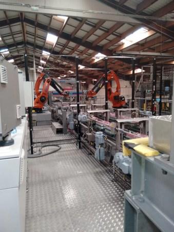 Visite de l'usine Coca-Cola de Clamart