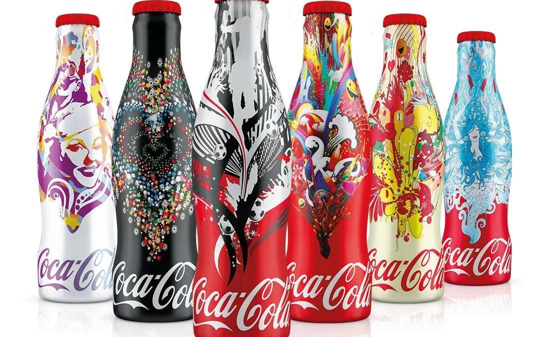Des magnifiques bouteilles Coca-Cola Collector en Hongrie