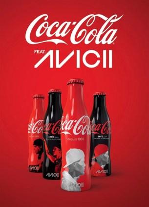 Bouteilles Coca-Cola feat Avicii