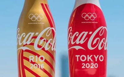 Coca-Cola Japon célèbre les Jeux Olympiques avec des bouteilles collector
