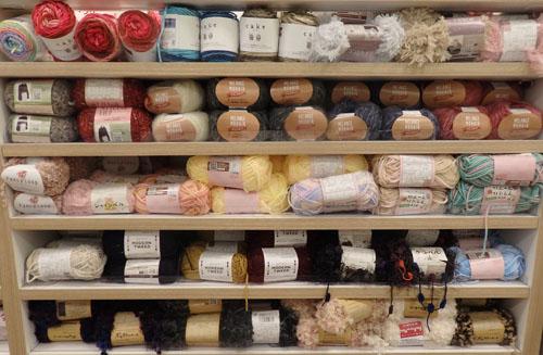 セリア 編み物 毛糸