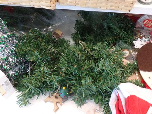 クリスマス セリア リース