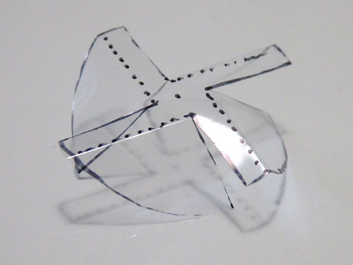 自由研究 太陽風車 ダイソー