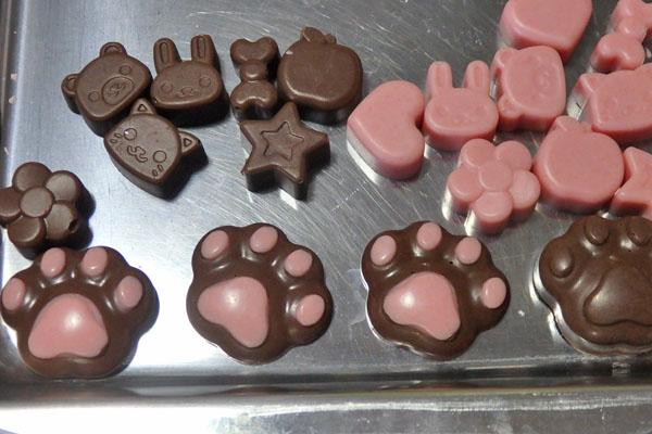 チョコ 手作り 100均