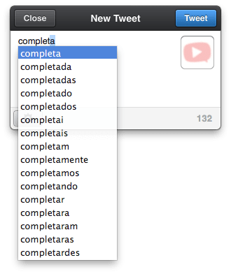 "Photo of Lista de palavra para ""auto-completar"" no OS X"