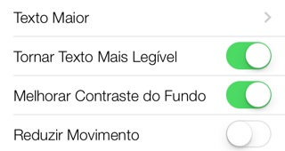 Photo of Legibilidade aprimorada no iOS 7