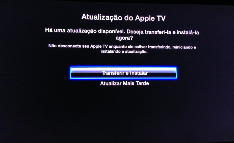 Photo of Apple TV Software 6.0.2 na Área