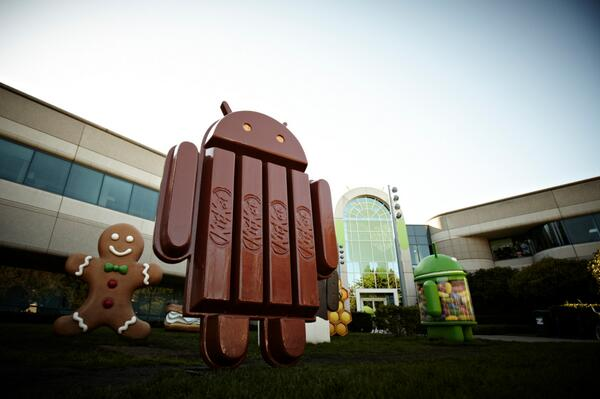 Photo of Android 4.4 KitKat