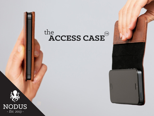 Photo of Access Case, Case de Couro com Micro Suction