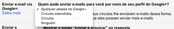 Photo of Como Desabilitar o Envio de Emails via Google+