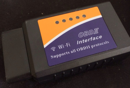 "Photo of Interface OBD-II Wi-Fi, ""Scanner Automotivo"""