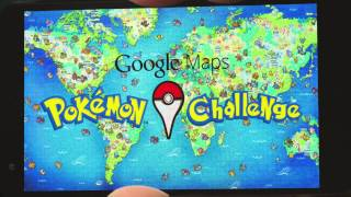 Photo of Google Maps: Pokémon Challenge
