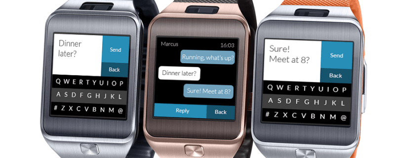 Photo of Fleksy para smartwatch