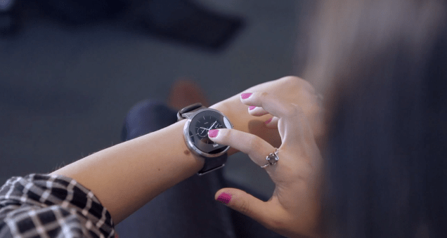 Photo of Official Moto 360 Demo at Google I/O