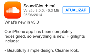 Photo of SoundCloud 3.0 na Área, novo look